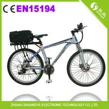 cheap rear rack battery electric trail bike