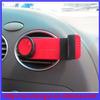 universal air vent car holder, smart mobile phone holder logo customized