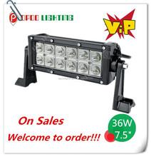 High Performance 36W Led Light Bar, 36W Offroad Led Ligth Bar