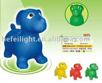 Inflatable dog animal with best made