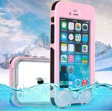 Fingerprint version phone case waterproof case for iphone 4 5 6 6s 6plus CO-WPF-110