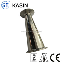 Stainless steel sanitary welded/clamped taper reducer
