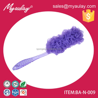2015 Factory wholesale top quality beautiful popular plastic body brush for sedex audit BA-N-009