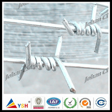 Best Selling! Single Strand Electric Galvanized Barbed Wire (Really Factory)