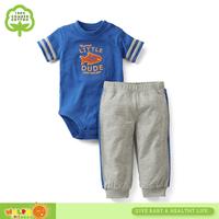 Korea Style Sport Summer Baby Clothing set