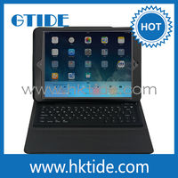 leather case silicone bluetooth keyboard for iPad air bluetooth keyboard,keyboard price from Shenzhen,OEM professional keyboard