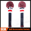 2015 Hot Slae Driver Knitted Pom Pom Golf Club Headcovers, Custom&Wholesale Knitted Golf Headcovers