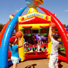 fiesta inflatable obstacle world sport bouncy game/Sport gane inflatables
