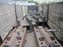 Big Pearlitic Cr-Mo Alloy Steel Liners for SAG Mill Dia.36Feet