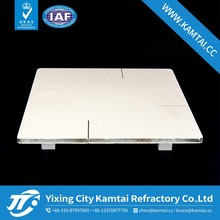 Refractory sic plate for Mn-Zn Ferrite