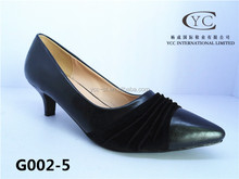 china shoe factory office lady shoe low heel shoes 2015 new product with high quality and competitive price