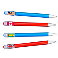 2015 Novelties lovely cartoon animal funny ball pen for school kids and office ladies