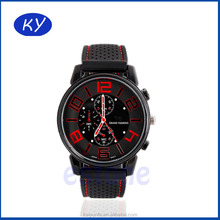Hot products man watch V6 sport watch quartz watch silicone band