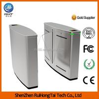 Entrance Control System RFID Card Reader Flap Automatic turnstile gate