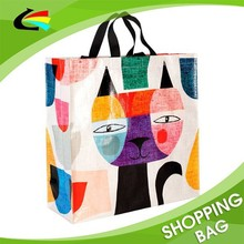 PP woven recyled tote bag