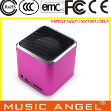 MUSIC ANGEL JH-MD06D tf card good sound quality power bass speaker portable