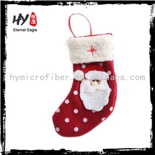 Brand new christmas stocking for kids, animal christmas stocking, red cheapest xmas socks