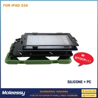 shockproof silicone protective cases for ipad 2