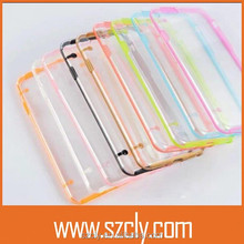 Ultra Thin Fluorescence Luminous Transparent Cellphone Case for iphone6