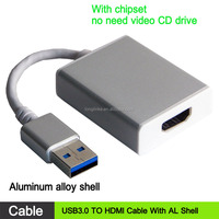 New Arrival USB 3.0 TO HDMI Converter Cable for DVI-D Converter Video Display Adapter