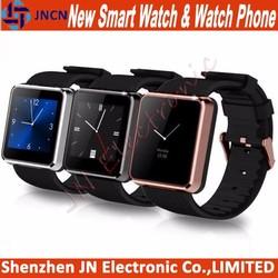 "1.55"" smartwatch sleep monitor sim card waterproof vibrating alarm bluetooth pedometer latest fashion mobile watch mobile phone"