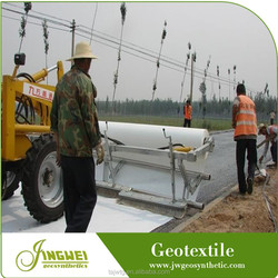 Erosion control reinforced geotextile for slope protection