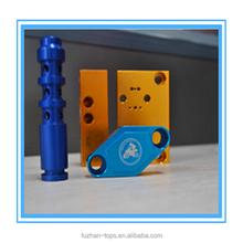 Blue,Red anodizing 6061-T6 customized cnc machining aluminum parts,aluminum CNC milling service in dongguan