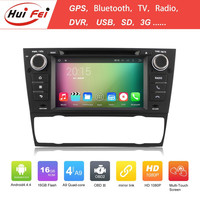 1024*600 Resolution Touch Screen Car DVD For E90 Android TV Box For BMW E90 Hui Fei Car DVD