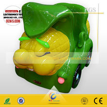 Popular corn car kiddie rides with video game/indoor amusement swing car for kids
