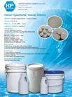 hipoclorito de cálcio 65%-70%, sódio processo