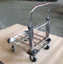 PH153 folding alumimium platform hand trolly 100kgs