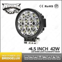 Factory Best Selling 4.5inch Super Bright 42w 12v Led Work Light