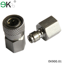 ST Series stainless steel male and female quick coupling hose connectors
