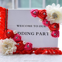 Custom fashion design wedding table decoration wedding seating cards from marry Crafts