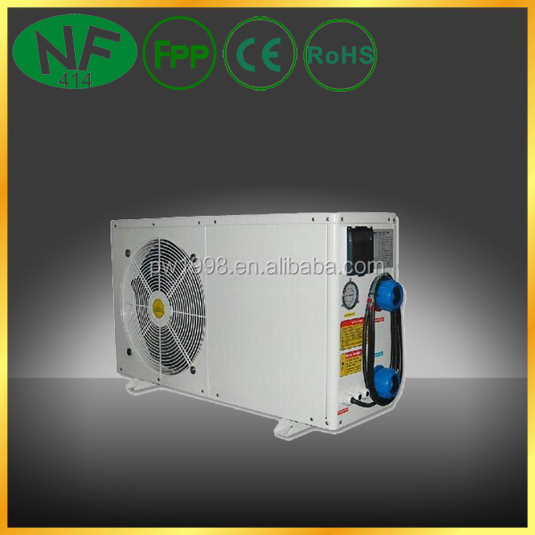 Best cop mini air source swim pool heat pump uses plastic for Best heating source for home