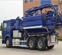 New Truck preços 6 X 4 de sucção de esgoto tanque de vácuo caminhão preço