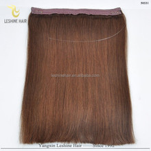 New Beauty Hot Sale Best Supplier Top Quality No Shedding No Tangle 100% Remy Human Hair qingdao yotchoi flip in hair extension