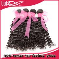 New Style Cheap Unprocessed Intact Brazilia deep wave 5a top quality virgin brazilian hair