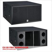 pro series subwoofer subbass dj pro audio subwoofer