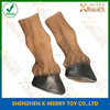 X-MERRY Fashion Horse Costume Set Mask Party Hooves Latex Halloween Gloves Play