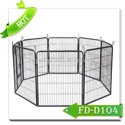 2015 hot sale pet product folding metal dog fence