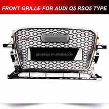 auto mesh grille grill for Audi Q5 SQ5 RSQ5 2013 2014