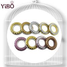 2015 Hot Sale YiBo Q5 series Home Design for 40.5mm Inner Diameter ABS Plastic Curtain Eyelet Rings