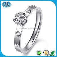 Fashion Jewelry Bulk Sale Stainless Steel Rings Wholesale Jewelry