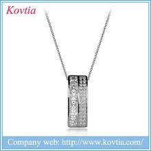 New 2015 popular costume jewellery silver tree of life pendant necklace