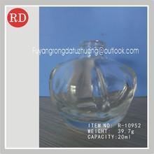 20ml clear empty perfume glass bottle