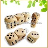 novelty design dice shape wood usb flash drive