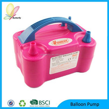 2014 Hot Sale Promotional Colorful Latex Electric Balloon Inflator