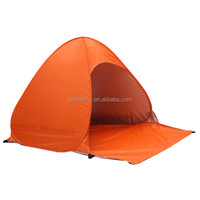 2-3 Persons Outdoor camping hiking beach summer UV protection fully sun shade quick open pop up beach awning fishing tent