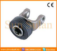 spline yoke handwheel with ball attachment